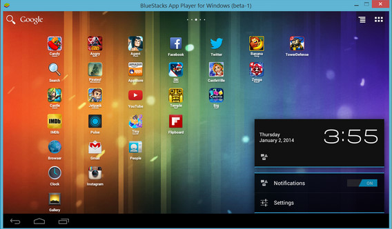 BlueStacks Windows indir