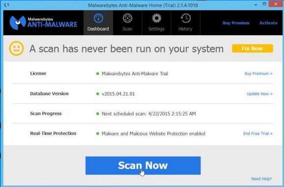 Malwarebytes Antivirüs Programı indir