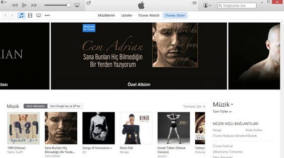 Windows Medya Oynatıcısı iTunes indir