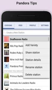 Pandora İnternet Radio Android indir