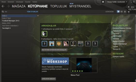 Store Steam Online Oyun İndirme Mağazası